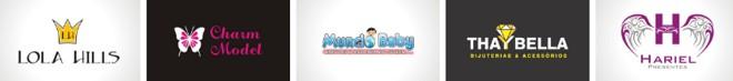 logomarcas e logotipos loja roupa fashion moda