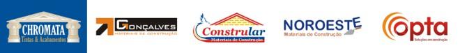 logomarcas e logotipos materiais construção acabamentos