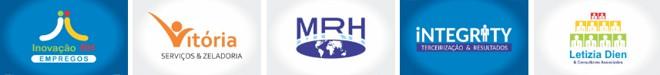 logomarcas logotipos recursos humanos empregos
