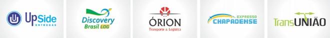 logomarcas logotipos transporte logistica