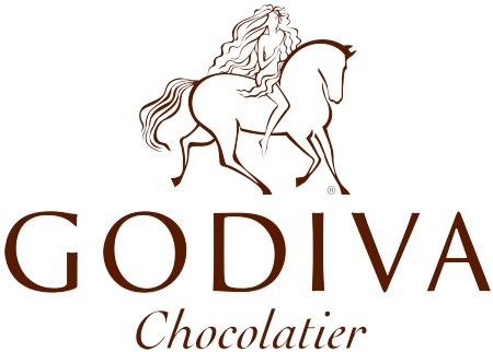 logotipo chocolate godiva