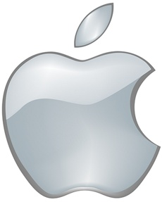 logotipo simbolo apple