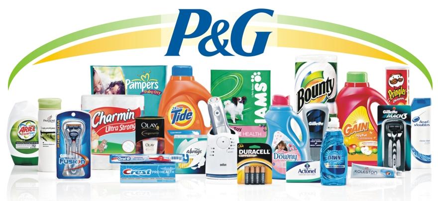 portifolio produtos p&g