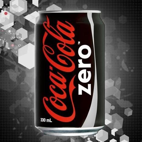 propaganda marca coca cola zero