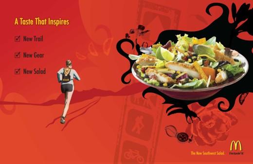 salada mcdonalds