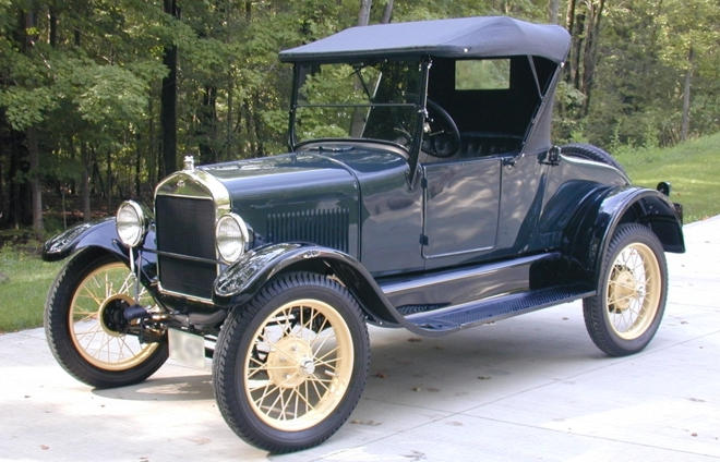 automovel ford modelo t