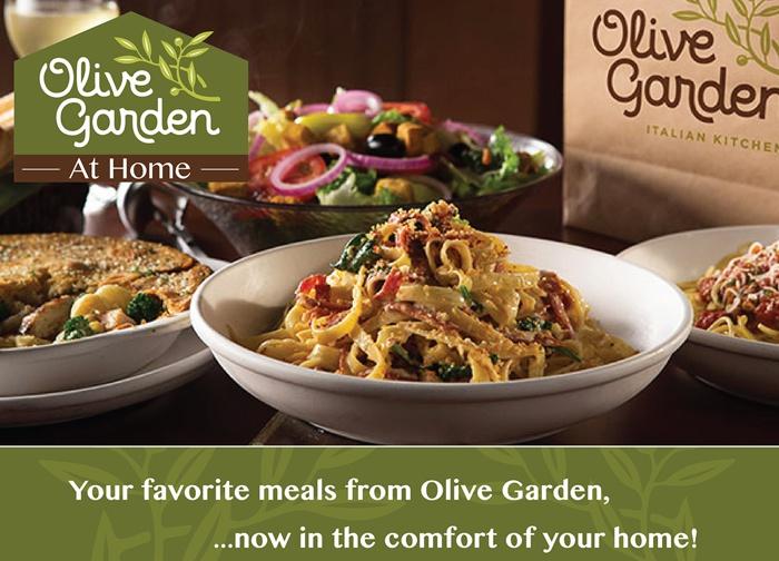 propaganda olive garden restaurante