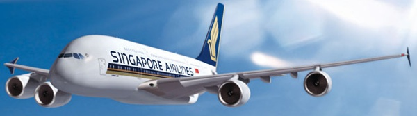 singapure airlines aviao a380