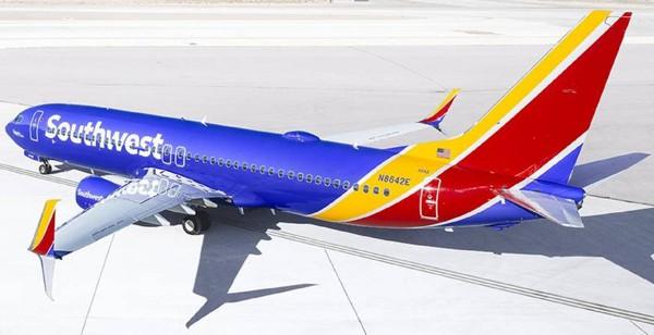 aviao southwest logomarca