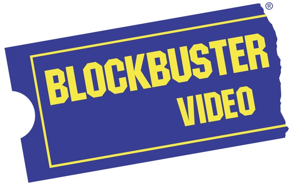 logotipo blockbuster video locadora