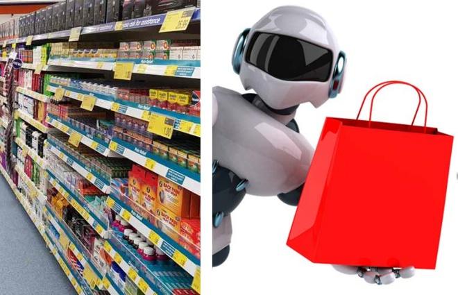 robos ponto de venda loja inteligencia artificial automação