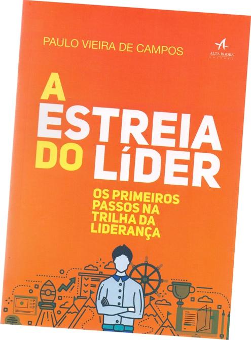 capa livro a estreia do lider
