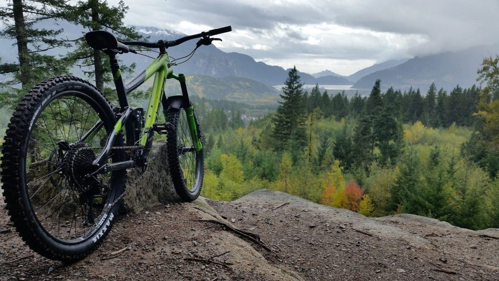 mountain bike sugerida pelo cliente
